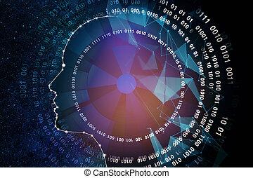 résumé, astrologique, fond