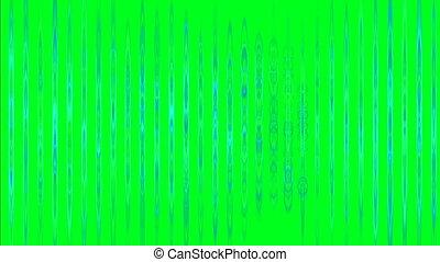résumé, barres, vert, écran, vertical