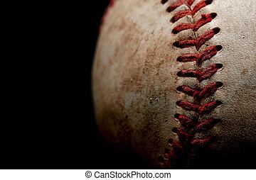 résumé, base-ball