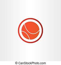 résumé, basket-ball, conception, symbole