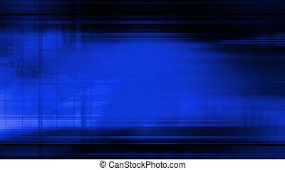 résumé, bleu, boucle, technologie de pointe