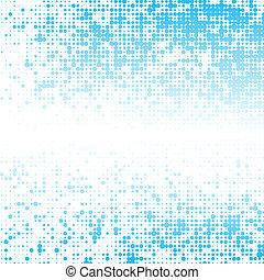 résumé, bleu, espace, carrés, texte, fond