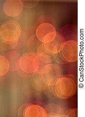 résumé, brouillé, lumières, bokeh, fond, circulaire
