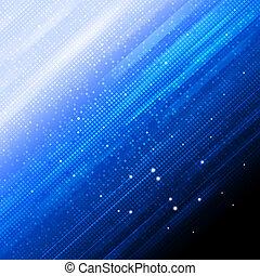 résumé, carré bleu, fond, formes