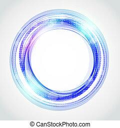 résumé, cercle, fond