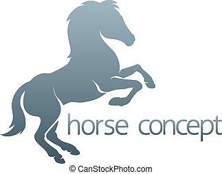 résumé, cheval