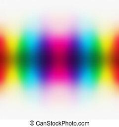 résumé, coloré, spectre, fond