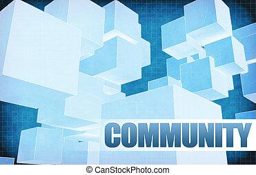 résumé, communauté, futuriste
