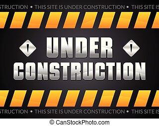 résumé, construction, fond, sous, artistique