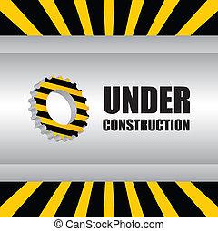 résumé, construction, fond, sous