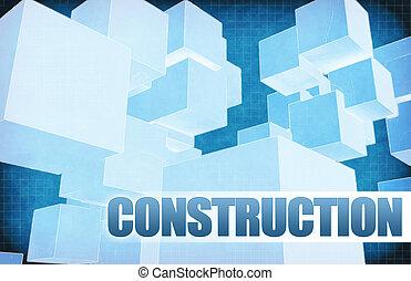 résumé, construction, futuriste