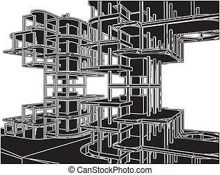 résumé, construction, structure