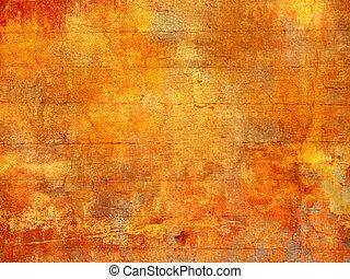 résumé, couleurs, fond, automne