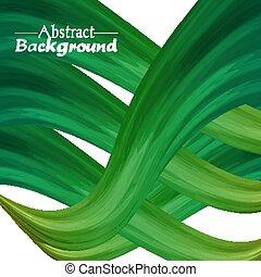 résumé, créatif, couleurs, arrière-plan vert, ton, design.