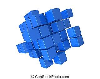 résumé, cubes