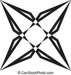 résumé, diamant, illusion, arabesque, geometrycal