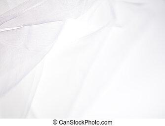 résumé, doux, fond blanc, tissu