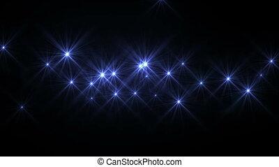 résumé, espace, étoiles, lumière