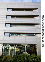 résumé, fenêtre, stade, architecture