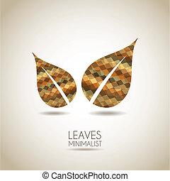 résumé, feuilles