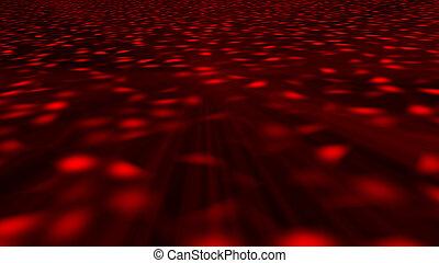 résumé, floor., disco, rendre, fond, 3d