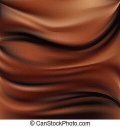 résumé, fond, chocolat