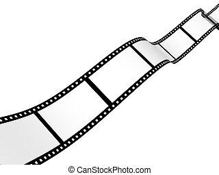 résumé, -, fond, film photographique, 3d