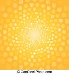 résumé, fond jaune