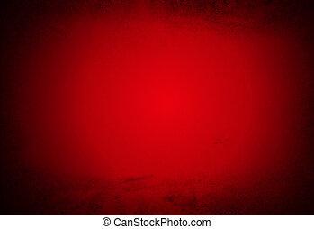 résumé, fond, sombre, vide, rouges, pensionnaire