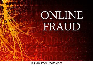 résumé, fraude, ligne