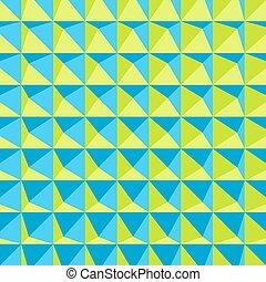 résumé, géométrique, arrière-plan., pattern., polygonal, 3d