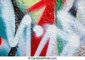 résumé, graffiti