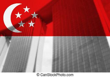 résumé, graphique, singapour