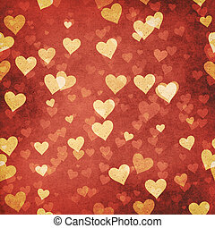 résumé, grungy, valentin, arrière-plans, pour, ton,...
