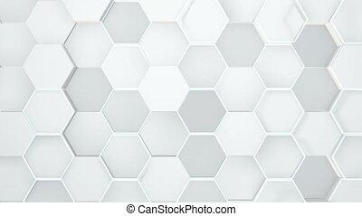 résumé, hexagonal, géométrique, surface.