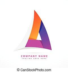 résumé, illustration, forme, conception, gabarit, logo