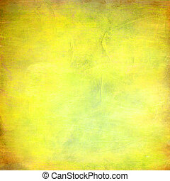 résumé, jaune, style, fond