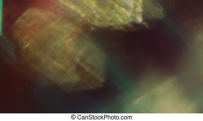 résumé, light., nostalgique, particules, fond, multi-coloré