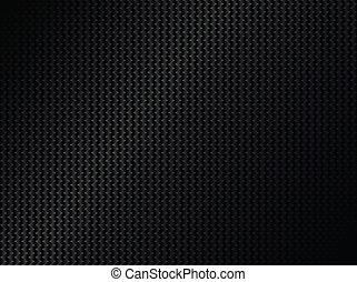 résumé, métallique, arrière-plan noir