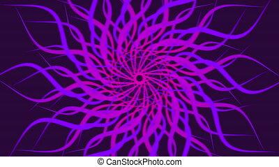 résumé, modelé, rose, spirale, coloré, arrière-plan., tourner, vagues