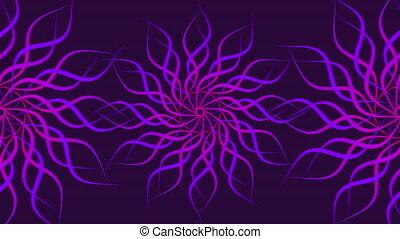 résumé, modelé, spirale, coloré, arrière-plan., tourner, vagues, pourpre