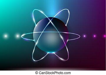 résumé, model., atome