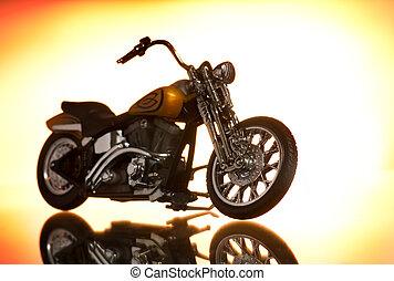 résumé, motocycle, fond