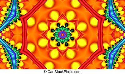 résumé, multicolore, très, fond, coloré