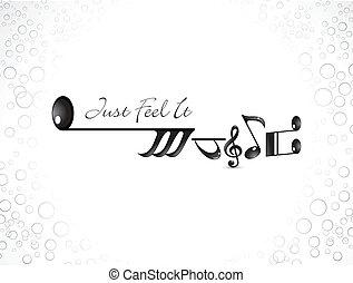 résumé, musical, fond