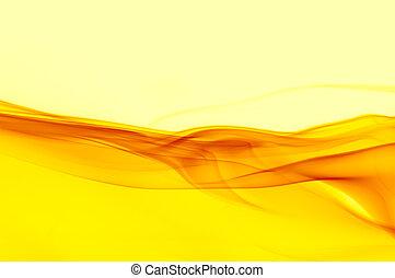 résumé, nuances, fond, jaune