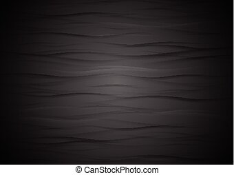 résumé, ondulé, noir, texture, fond