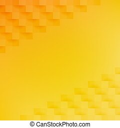 résumé, orange, fond jaune