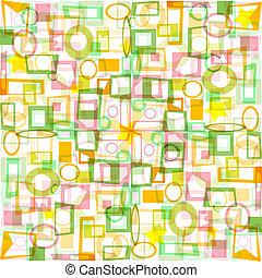 résumé, papier peint, coloré, fond