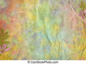 résumé, pastel-colored, papier, fond